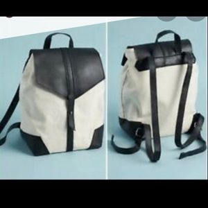 Deux Lux Demi Backpack In Black and White
